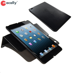 Macally iPad Mini 2 / iPad Mini Rotating Folio Case with Stand- Black