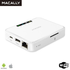 Macally Media Hub and Travel Router