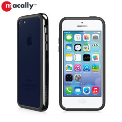 Macally Protective Bumper Case for iPhone 5C - Black