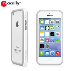 Macally Protective Bumper Case for iPhone 5C - White