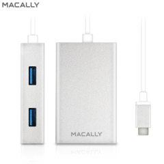 Macally USB-C 4-Port USB 3.0 Hub