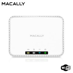 Macally WiFiSD2 Portable WiFi Media Hub  - White