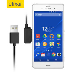 Magnetic Charging Cable Sony Xperia Z3 / Z3 Compact / Z2 - Black