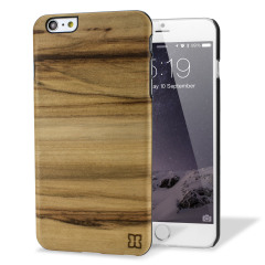 Man&Wood iPhone 6 Plus Wooden Case - Cappucino
