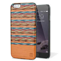 Man&Wood iPhone 6S / 6 Wooden Case - Browny Check