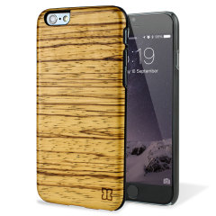 Man&Wood iPhone 6S / 6 Wooden Case - Zebrano