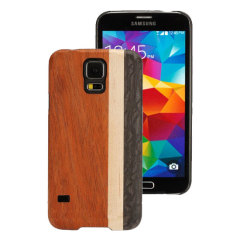 Man&Wood Samsung Galaxy S5 Wooden Case - High Way