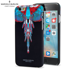 Marcelo Burlon iPhone 6S / 6 Designer Hard Shell Case - Wings