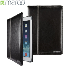 Maroo Executive Leather iPad Air 2 Case - Black
