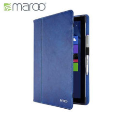 Maroo Executive Microsoft Surface Pro 3 Leather Case - Blue