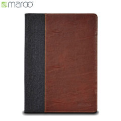 Maroo Microsoft Surface 3 Leather Folio Case - Woodland Brown
