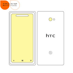 Martin Fields Overlay Screen Protector - HTC 8X