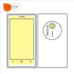 Martin Fields Screen Protector for Nokia Lumia 1020