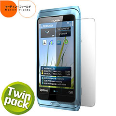 Martin Fields Screen Protector - Nokia E7 - Twin Pack
