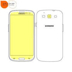 Martin Fields Screen Protector - Samsung Galaxy S3