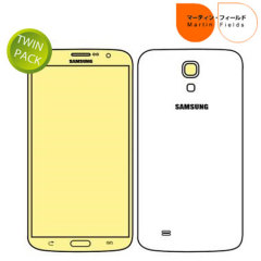 Martin Fields Screen Protector Twin Pack for Samsung Galaxy Mega 6.3