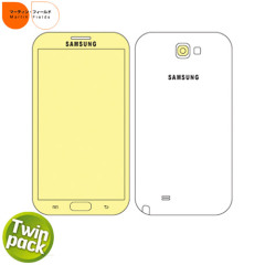 Martin Fields Screen Protector Twin Pack - Samsung Galaxy Note 2