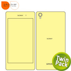 Martin Fields Twin Pack Screen Protector - Sony Xperia Z1