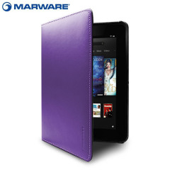 Marware EcoVue Leather Kindle Fire HD Case - Purple