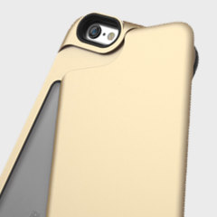 Matchnine iPhone 6S Plus / 6 Plus Match4 Swing Card Case - Gold
