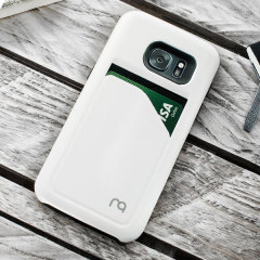 Matchnine Match4 Pocketcard Samsung Galaxy S7 Edge Case - White