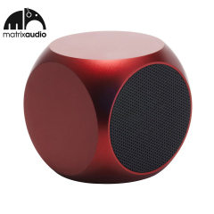 Matrix Audio Qube Universal Pocket Speaker - Red
