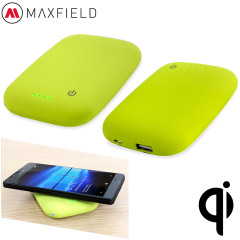 Maxfield Qi Wireless Charging Power Bank 4000mAh - Apple Green