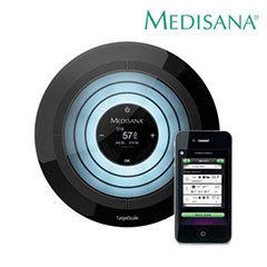 Medisana TargetScale Body Analysis Scale for Apple Devices
