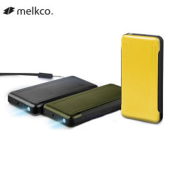 Melkco Austin Pro 8,000mAh Quick-Charge Tough Power Bank - Black