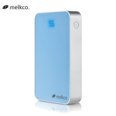 Melkco Digital Display 11,000mAh Power Bank - Blue