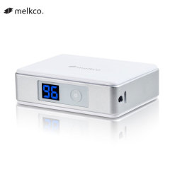 Melkco Digital Display Mini 5,200mAh Power Bank - White