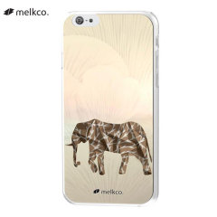 Melkco Graphic iPhone 6 Designer Shell Case - Elephant