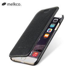 Melkco iPhone 6 Premium Leather Wallet Case - Black