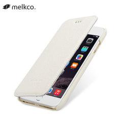 Melkco iPhone 6 Premium Leather Wallet Case - White
