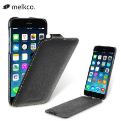 Melkco Jacka iPhone 6 Premium Leather Flip Case - Black
