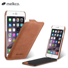 Melkco Jacka iPhone 6 Premium Leather Flip Case - Brown