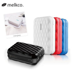 Melkco Round-Trip Dual USB Power Bank 10,000mAh - Black