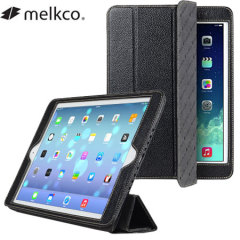 Melkco Slimme Leather Case for iPad Air - Black