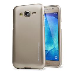 Mercury Goospery iJelly Samsung Galaxy J5 2015 Gel Case - Gold