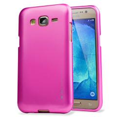 Mercury iJelly Goospery Samsung Galaxy J5 2015 Gel Case - Hot Pink