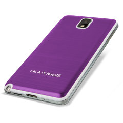 Metal Replacement Back for Samsung Galaxy Note 3 - Purple