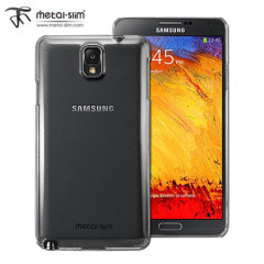 Metal-Slim Hard Case for Samsung Galaxy Note 3 - Clear