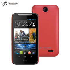 Metal-Slim HTC Desire 310 Rubber Case - Red