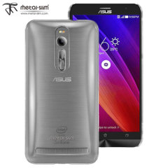 Metal-Slim Polycarbonate Asus ZenFone 2 Shell Case - Clear