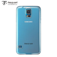 Metal-Slim Protective Case for Samsung Galaxy S5 - Clear