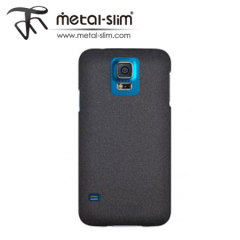 Metal-Slim Protective Case for Samsung Galaxy S5 - Sandy