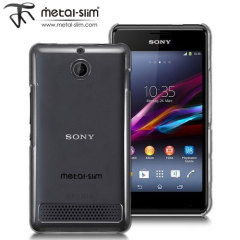 Metal-Slim Protective Case for Sony Xperia E1 - Clear