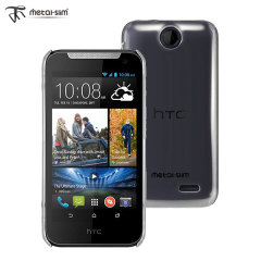 Metal-Slim Transparent HTC Desire 310 Protective Case - Clear