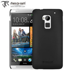 Metal-Slim UV Protective Case for HTC One Max - Black