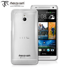Metal-Slim UV Protective Case for HTC One Mini - Clear